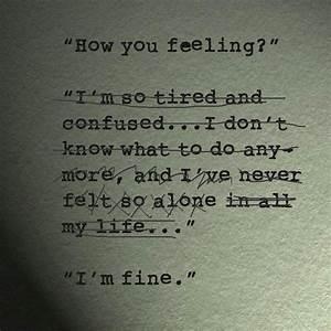 Feeling Lost Quotes Tumblr | www.pixshark.com - Images ...