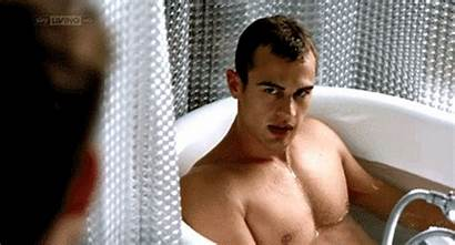 Theo James Divergent Actor Naked Action Guys