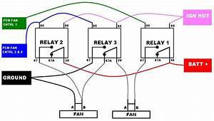 Radiator Cooling Fan Relay Wiring Diagram