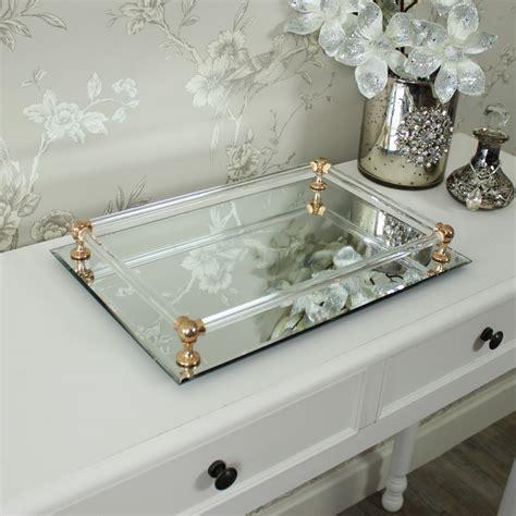 rectangular mirrored display tray melody maison 174