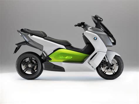 le scooter electrique bmw  evolution sur la route