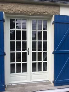 Porte Fenetre Bois 2 Vantaux : arzur menuiseries installation de portes fen tres bois 2 vantaux ~ Dode.kayakingforconservation.com Idées de Décoration