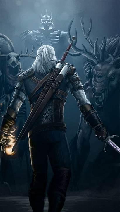 Geralt Rivia Witcher Zedge Hunt Wild