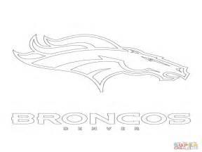 Denver Broncos Logo Coloring Pages