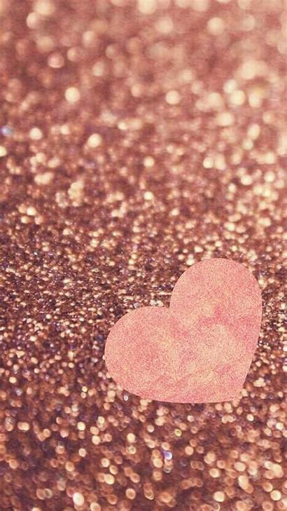 Rose Glitter Gold Wallpapers Android Background Backgrounds