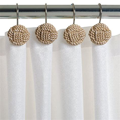 pcs beach carved rope seaside sturdy shower curtain