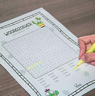 woordzoekers  spellingcategorie   woordzoeker