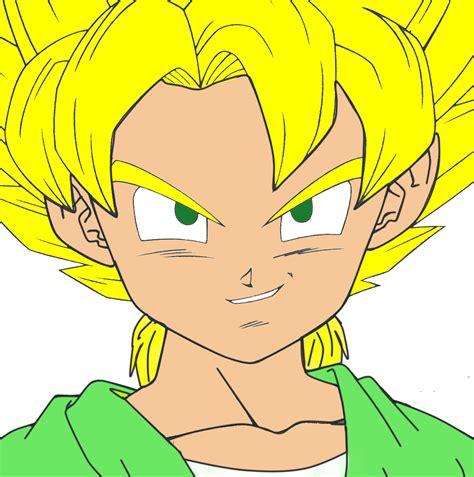 Goten Jr Dragonball Fanon Wiki Fandom Powered By Wikia