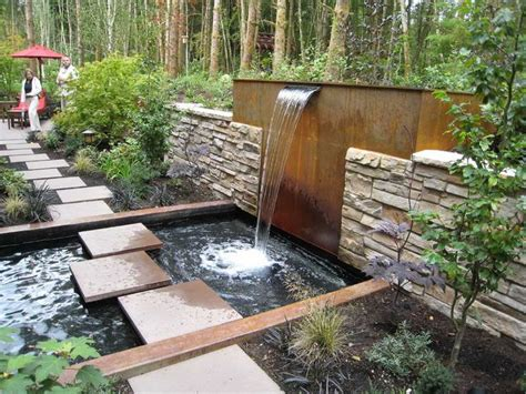 Water Fountains For Small Backyards by Small Backyard Landscaping Ideas With Water