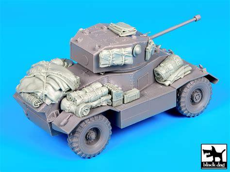 Aec Mk Ii Armoured Car Accessories Set For Mini Art Black