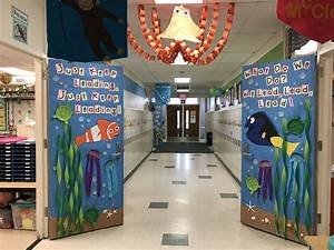 Finding, Dory, And, Finding, Memo, Classroom, Doors