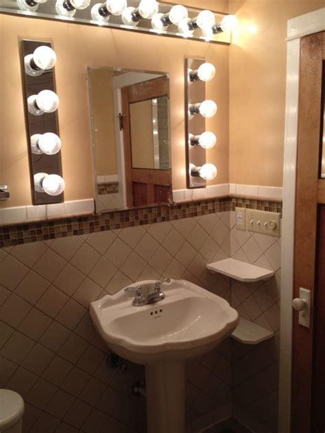 overhaul remodel  rental home traditional bathroom