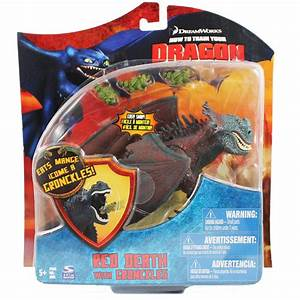 How to Train Your Dragon Movie RED DEATH With 3 Mini ...