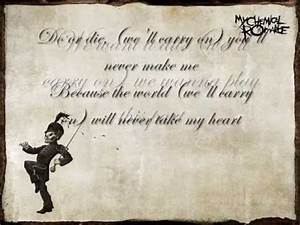 My Chemical Romance-Welcome To The Black Parade-LYRICS ...