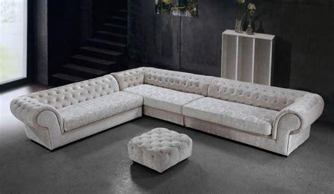 cream microfiber sectional sofa cream dream microfiber sectional sofa and ottoman fabric