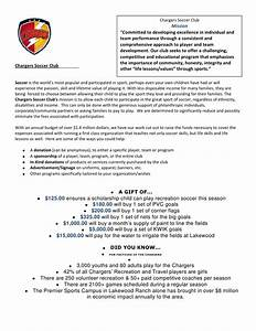 sponsor and donation letter updated With sports team sponsorship proposal template