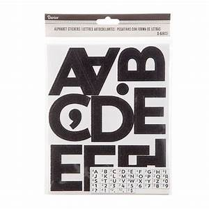 alphabet number stickers black glitter 25 inches With 5 inch letter stickers