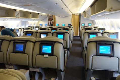 Pakistan Airlines 777 Business Class In 10 Pictures - One