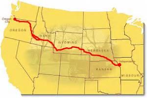 Oregon Trail (map2) Oregon