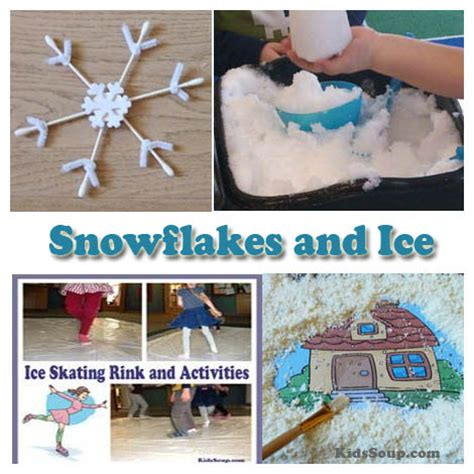 preschool frozen activities and daily lesson plans kidssoup 808 | Snow Ice Activities KS