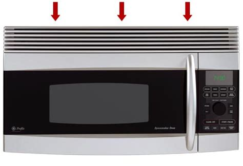 charcoal filter replacement microwaves  grille   door