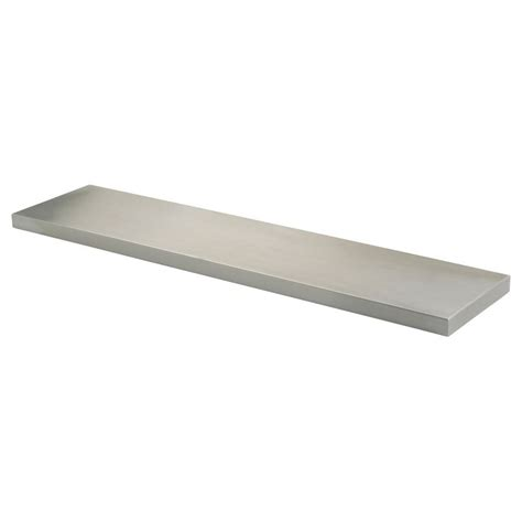 ikea kitchen stainless steel shelves ekby mossby shelf stainless steel