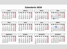 Calendario laboral y de festivos de 2019 y 2020 Gasteiz Hoy