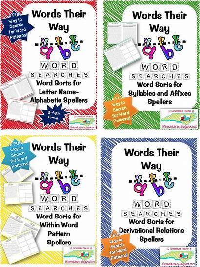 Words Word Way Study Routine Spelling Activities