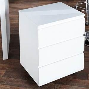 Rollcontainer Weiß Hochglanz : b ro rollcontainer move holz hochglanz weiss xtf24 online shop ~ Frokenaadalensverden.com Haus und Dekorationen