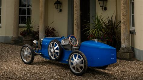 Priced at about $35,000, it's powered by an electric drivetrain. Bugatti Baby II Revealed at Bugatti's 110th Anniversary