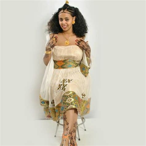 traditional habesha dress zenar tibeb mahiber