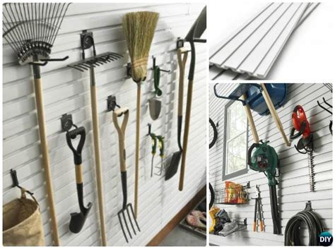 garden tool wall storage garden tool organizer storage diy ideas projects