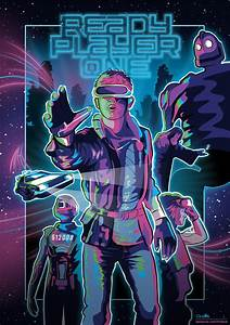 Fan art poster of the upcoming movie Ready Player One ...