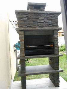 Beton Pas Cher : my barbecue pas cher barbecue en beton av265f ~ Edinachiropracticcenter.com Idées de Décoration