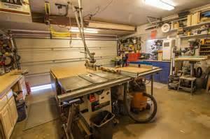 Garage Woodworking Shop Layout