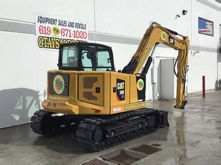 caterpillar cr mini excavator