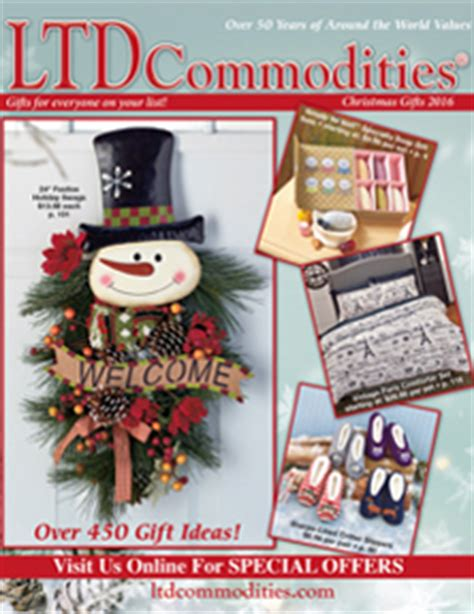 christmas ideas catalogues ltd commodities gifts unique finds home decor housewares