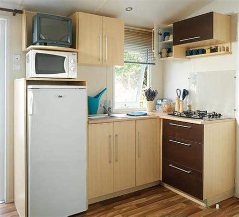 cuisine de nos r馮ions mobil home familial cuisine équipée cing l 39 agrion bleu
