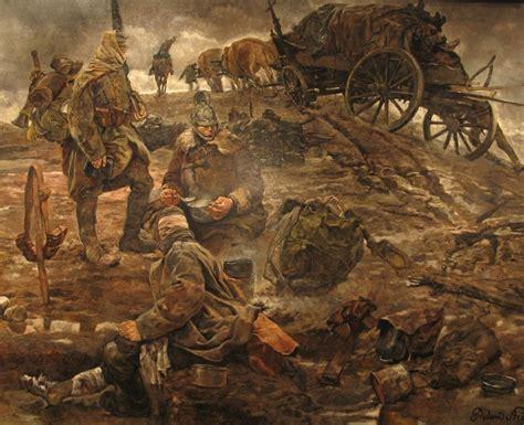 roland strasser   battle oil painting der