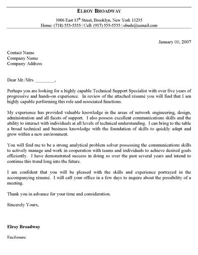 cover letter header free it support cover letter template