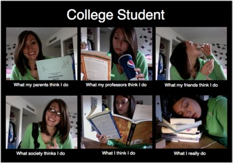 College Student Meme - if the dream is big enough the facts don t count