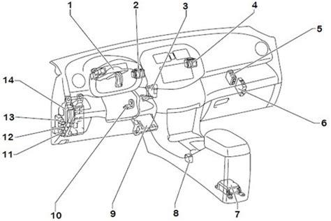 Rav 4 Keyles Entry Wiring Diagram by Wiring Diagrams 2006 Toyota Rav4 Instrument Panel Relay