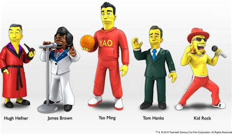 The Simpsons Celebrity Guest Star Action Figures Revealed ...