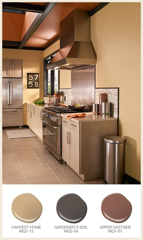 Colorfully, Behr  Easy Kitchen Color Ideas