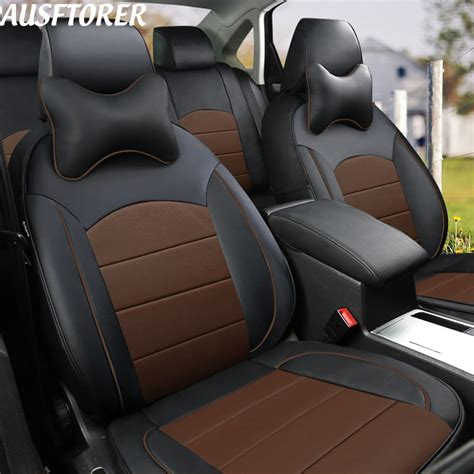 Cowhide Seat Covers by Ausftorer Custom Cowhide Cover Seat Car For Peugeot 307 Sw