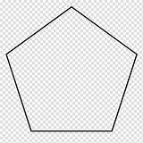 Shape Pentagon Geometry Parallelogram Regular Transparent Coloring Clipart Polytope Polygon Hiclipart Pngio sketch template