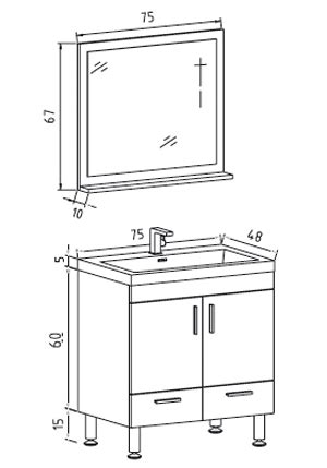 hauteur de pose d un lavabo dimension standard meuble vasque table de lit