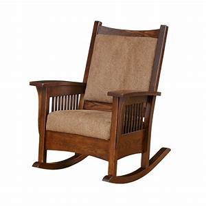 Mission Rocker Amish Mission Rocker - Country Lane Furniture