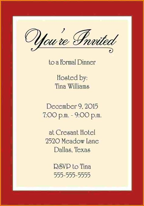 Templates For Invitations by Invitation Template Word Authorization Letter Pdf
