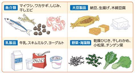 骨 を 強く する 食べ物